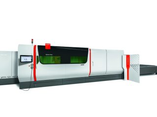 Machine of the Month- Bystronic's 8-kW, 10-kW ByStar Fiber Laser